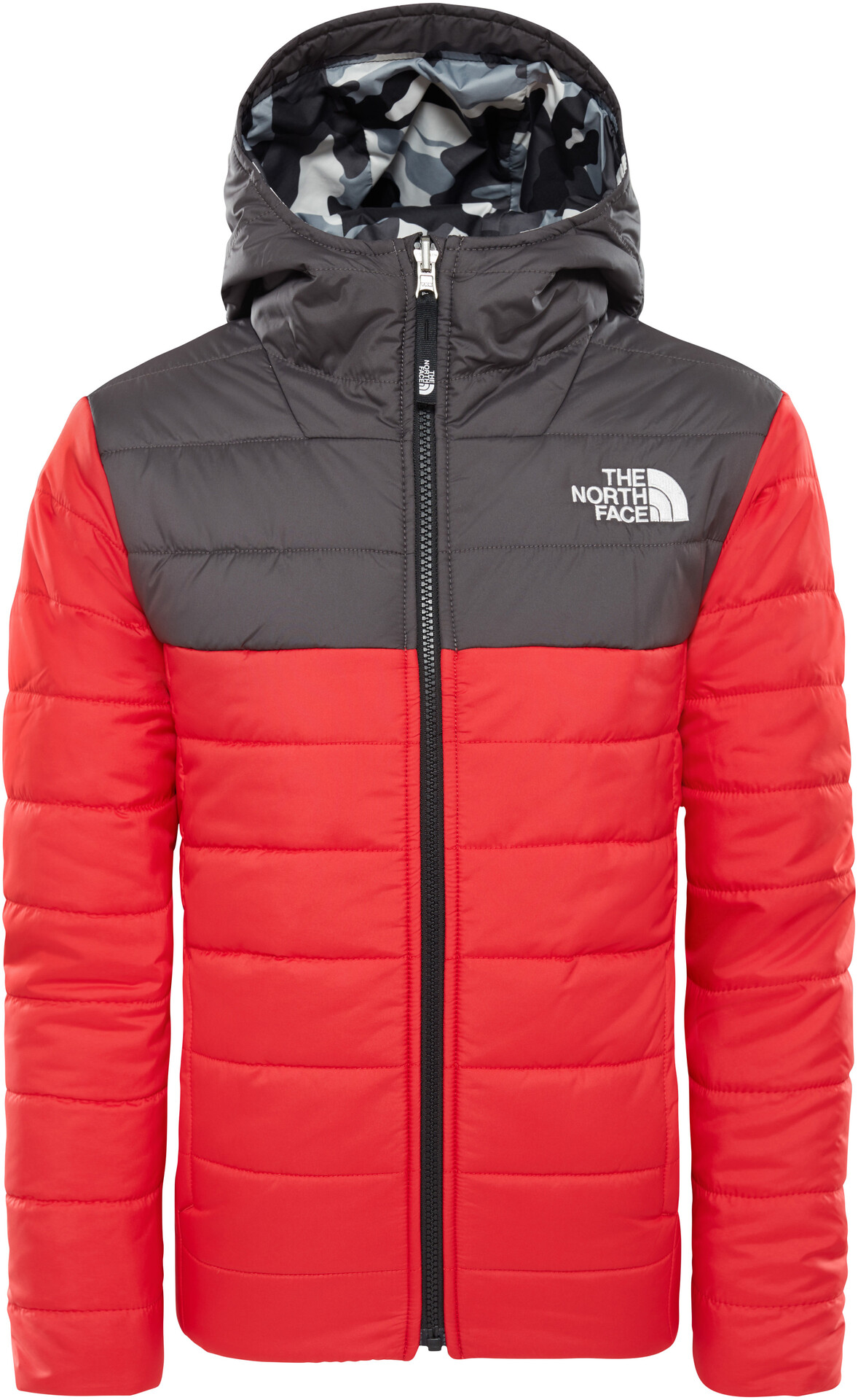 5a53e82a0447 The Perrito CAMPZ North Face Enfant Veste Rev sur grisrouge fZfrqxaw